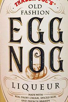Trader Joe's Egg Nog Liqueur