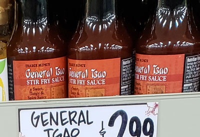 Trader Joe's General Tsao Stir Fry Sauce