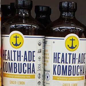 Trader Joe's Health-Ade Ginger Lemon Kombucha