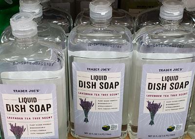 Trader Joe's Lavender Tea Tree Dish Soap