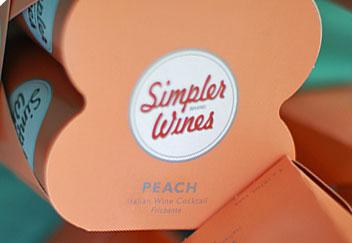 Trader Joe's Simpler Wines Peach