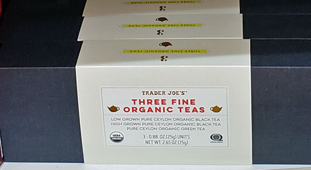Trader Joe's Three Fine Organic Teas