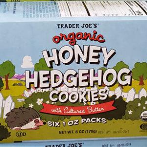 Trader Joe's Organic Honey Hedgehog Cookies