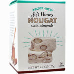 Trader Joe's Soft Honey Nougat with Almonds