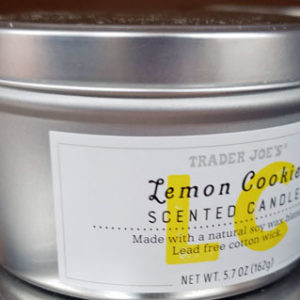 Trader Joe's Lemon Cookie Scented Candle