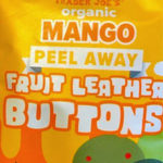 Trader Joe's Mango Peel Away Fruit Leather Buttons