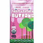 Trader Joe's Strawberry Mango Peel Away Fruit Leather Buttons
