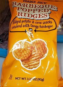 Trader Joe's Barbeque Popped Ridges