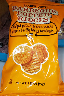 Trader Joe's Barbeque Popped Ridges