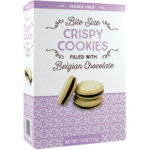 Trader Joe's Bite Size Crispy Cookies Filled with Belgian Chocolate