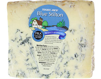 Trader Joe's Blue Stilton Cheese