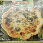 Trader Joe's Mixed Mushroom & Spinach Quiche