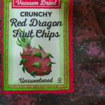 Trader Joe's Crunchy Red Dragon Fruit Chips