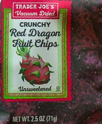 Trader Joe's Crunchy Red Dragon Fruit Chips