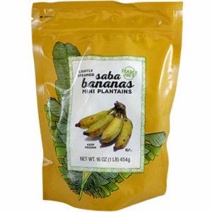 Trader Joe's Saba Bananas (Mini Plantains)