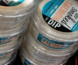 Trader Joe's Smoked Salmon Dip with Capers