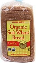 Trader Joe's Organic Soft Wheat Bread
