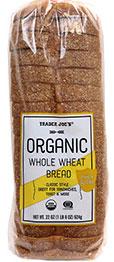 Trader Joe's Organic Whole Wheat Bread