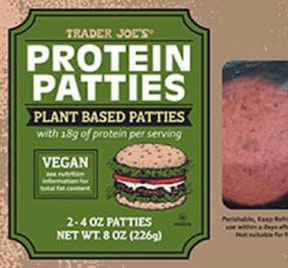 Trader Joe's Protein Patties