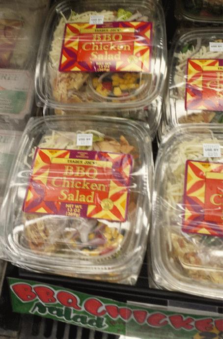 Trader Joe's BBQ Chicken Salad