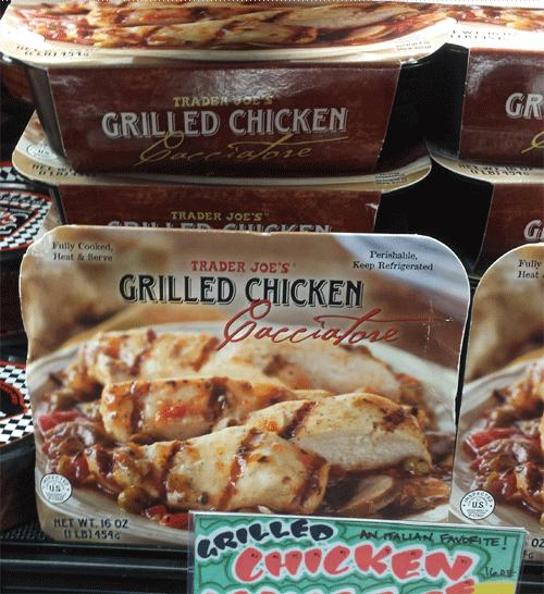 Trader Joe's Chicken Cacciatore