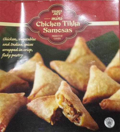 Trader Joe's Chicken Tikka Samosas