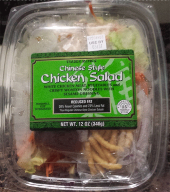 Trader Joe's Chinese Style Chicken Salad
