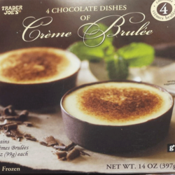 Trader Joe's Creme Brulee Chocolate Dishes Reviews