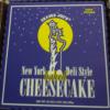 Trader Joe's New York Deli Style Baked Cheesecake