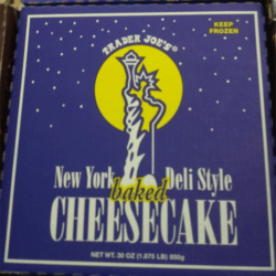 Trader Joe's New York Deli Style Baked Cheesecake