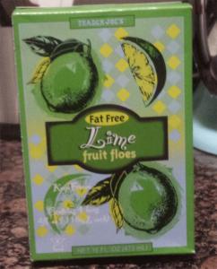 Trader Joe's Lime Fruit Floes