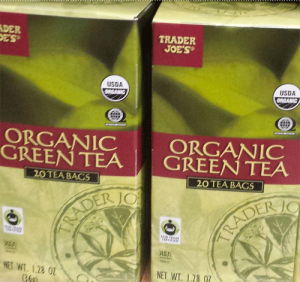 Trader Joe's Organic Green Tea