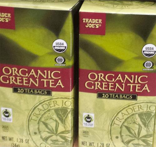 Trader Joe's Organic Green Tea