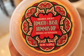 Trader Joe's Tomato & Basil Hummus Dip Reviews