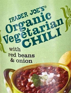 Organic Vegetarian Chili