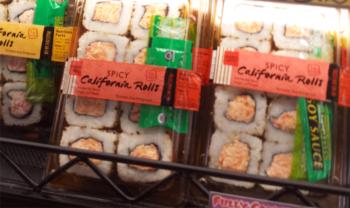 Trader Joe's Spicy California Rolls