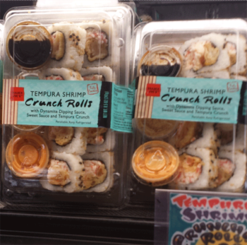 Trader Joe's Tempura Shrimp Crunch Rolls