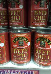 Trader Joe's Beef Chili