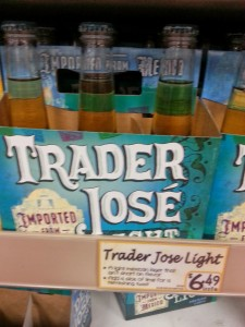 Trader Jose Light Beer Review