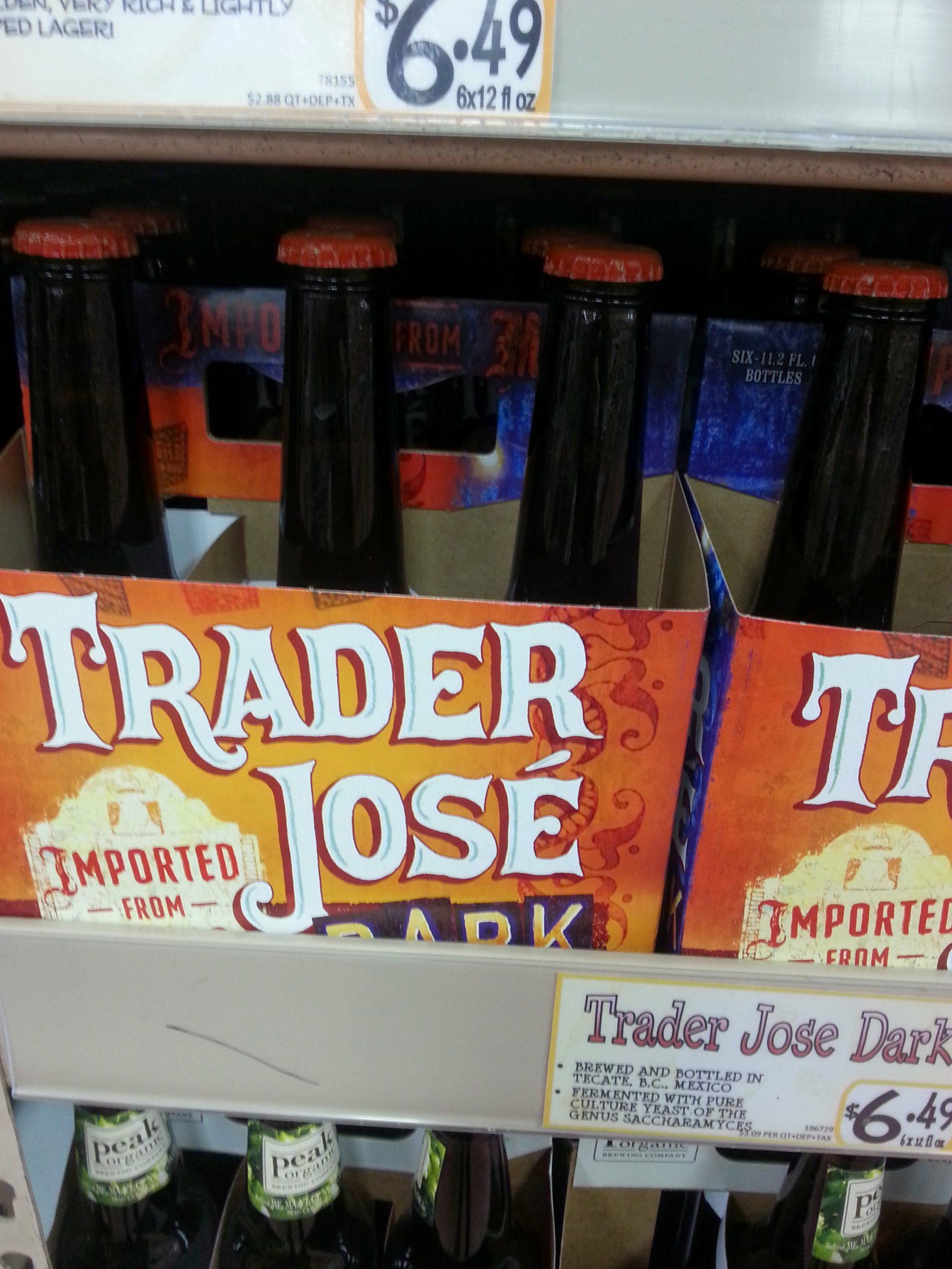 Trader Jose Dark Beer Reviews