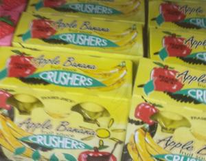 Trader Joe's Apple Banana Crushers