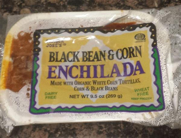 Trader Joe's Black Bean & Corn Enchilada