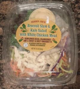 Trader Joe's Broccoli Kale Chicken Salad