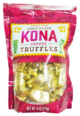 Trader Joe's Chocolate Kona Coffee Truffles