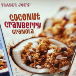 Trader Joe's Coconut Cranberry Granola