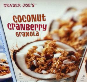 Trader Joe's Coconut Cranberry Granola