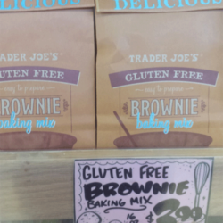 Trader Joe's Gluten-Free Brownie Mix