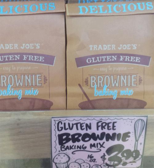 Trader Joe's Gluten-Free Brownie Mix
