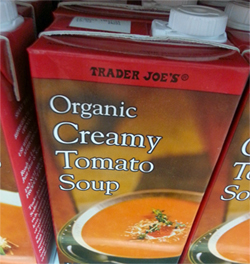 Trader Joe's Organic Creamy Tomato Soup