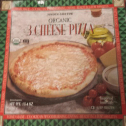 Trader Joe's Organic 3 Cheese Pizza